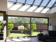 Aluminium patio door Concept Roof 120 - Reynaers Aluminium