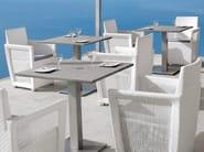 Garden table / Restaurant table NAPOLI | Square garden table - MANUTTI