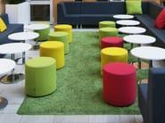Upholstered fabric pouf BOB - Johanson Design