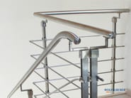 Stainless steel balustrade INOX STEP SYSTEM - WOLFSGRUBER