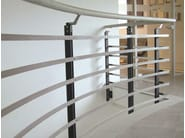 Stainless steel balustrade STEP SYSTEM - WOLFSGRUBER