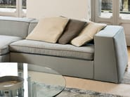 Sectional sofa with chaise longue GOOD MOOD | Sofa with chaise longue - Bonaldo