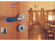 Murano glass door handle GEMMA | Murano glass door handle - KLEIS