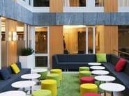 Corner modular guest chair BILL W CORNER BACK - Johanson Design