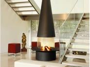 Central hanging fireplace FILIOFOCUS 2000 CENTRAL - Focus