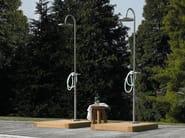 Portable steel outdoor shower Outdoor shower - ZUCCHETTI