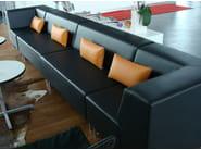 Upholstered modular guest chair U-SIT 81 | Armchair - Johanson Design