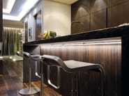 Kitchen with island without handles T45 | Kitchen with island - TM Italia Cucine