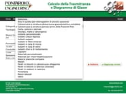 Applicazione software gratuito per la trasmittanza termica Calcolo della Trasmittanza - PONTAROLO ENGINEERING