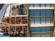 Posa di Isotec su struttura discontinua in ferro/legno