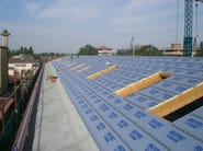 Polyurethane foam Ventilated roof system ISOTEC® - BRIANZA PLASTICA