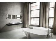 Countertop round Korakril™ washbasin HOLE | Countertop washbasin - Rexa Design
