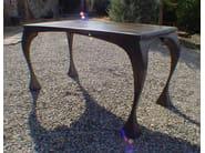 Design rectangular steel table BRIDE - ICI ET LÀ
