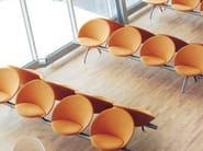 Beam seating BILLUND - FREDERICIA FURNITURE