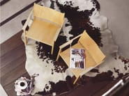Beech easy chair with armrests SITI - Zilio Aldo & C.