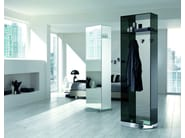 Mirrored glass hallway unit KADDY - T.D. Tonelli Design