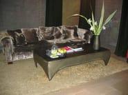 Design rectangular steel coffee table ROBLE - ICI ET LÀ