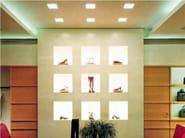 LED Coral® built-in lamp MINI SECRET 10 X 10 - Buzzi & Buzzi