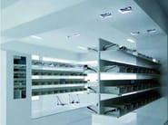 Adjustable Coral® built-in lamp WHITE BOX - Buzzi & Buzzi