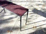 Rectangular iron console table EMPREINTES HUELLAS | Console table - ICI ET LÀ