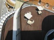 Outdoor engineered wood wall/floor tiles TECNODECK® - GRUPPO SOGIMI