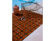 Rectangular rug with geometric shapes STAR - NOW CARPETS
