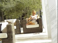 Modular wicker garden armchair HAVANA | Garden armchair - Gloster