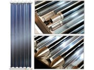 Solar thermal vacuum tube T12 CPC - Rossato Group