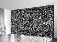 Decorated glass movable wall / Sliding door LINE OTT'ANTA BLACK - Casali