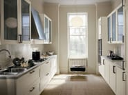 Ash kitchen with handles SUPRÊME | Quartz kitchen - ERNESTOMEDA