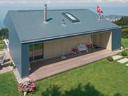 Roofing panel and sheet in fibre cement SWISSPEARL® - SWISSPEARL Italia