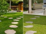 Reconstructed stone garden paths TRONC - SAS ITALIA - Aldo Larcher