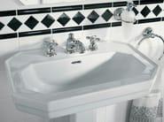 3 hole chrome plated washbasin tap AXOR CARLTON | Washbasin tap - HANSGROHE
