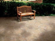Porcelain stoneware outdoor floor tiles ÁGORA - REALONDA