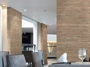Porcelain stoneware wall tiles with wood effect FOREST - REALONDA