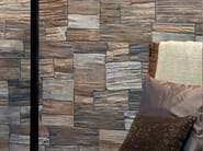 Porcelain stoneware wall tiles with stone effect TRIPOLI - REALONDA