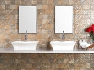 Porcelain stoneware wall tiles GLOSSY TIMBAO DECOR - REALONDA
