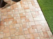 Porcelain stoneware outdoor floor tiles LATINO - REALONDA