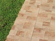 Porcelain stoneware outdoor floor tiles CIEZA - REALONDA