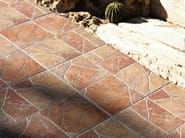 Porcelain stoneware outdoor floor tiles HELLIN - REALONDA