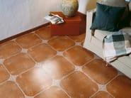 Red-paste flooring ARANJUEZ - REALONDA