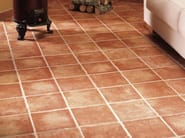 Red-paste flooring DHALY - REALONDA