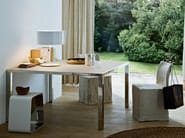 Square stainless steel table SMART - Gallotti&Radice