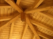 Timber roof structure and timber truss Timber roof structure and timber truss - GALLOPPINI LEGNAMI