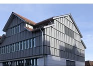Ventilated facade COMPOSITE - UMICORE BUILDING PRODUCTS ITALIA