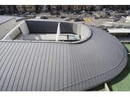 Insulated metal panel for roof COMPACT - UMICORE BUILDING PRODUCTS ITALIA