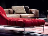 Upholstered fabric day bed AUTOGRAFO - ERBA ITALIA