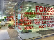 Ecological ultra thin porcelain stoneware wall/floor tiles FOKOS - Laminam