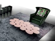Low oval coffee table EGGS - ERBA ITALIA