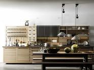 Wooden fitted kitchen SineTempore - VALCUCINE